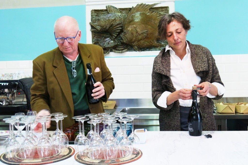 Paola Donati e Maurice Kavenagh